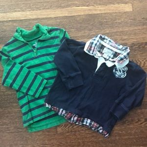 Boys Children's Place Long Sleeve Shirts
